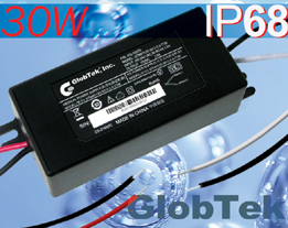 In-line power supplies have Double-Enforced Insulation Mechanical Configurations, Regulated Outputs voltage from: 5V to 48Vdc in 0.1V increments, up to 30W of continuous output power. GlobTek's GT-91120...