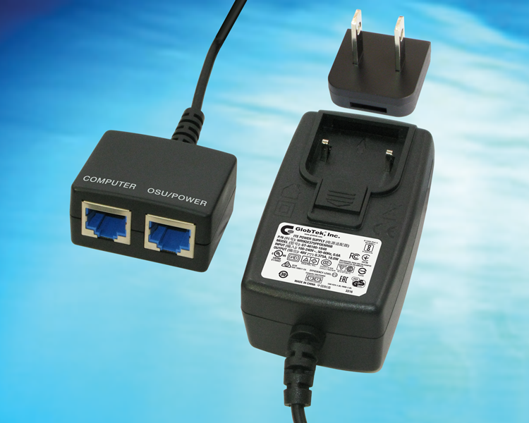 18W Passive POE Injector offers both DOE 2.0 EPS Level VI efficiency and most global approvals to IEC/UL60950 such as India BIS, China CCC, Japan PSE, Ukraine, Mexico NOM, UL/cUL, Taiwan BSMI, and South African SABS,  WR9QX375PPOENR6B