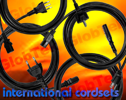 International Detachable Power Cordsets. GlobTek's 2 Conductor IEC 320/C7 cordsets are approved to international safety agency requirements. Designs are available in various lengths, cable types, conductor...