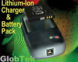 Li-ON chargers offers a compact and cost effective solution for charging GlobTek's GL-523434A2 Lithium-Ion and Lithium Polymer battery pack. It features the ability to be custom tailored for specific applications...